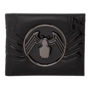 VENOM Movie Metal Badge Wallet BIFOLD Marvel Comic